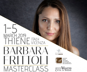 Masterclass di canto con il soprano Barbara Frittoli all'Istituto Musicale Veneto di Thiene
