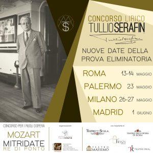 Anche il Teatro Real di Madrid aderisce al Concorso lirico Tullio Serafin