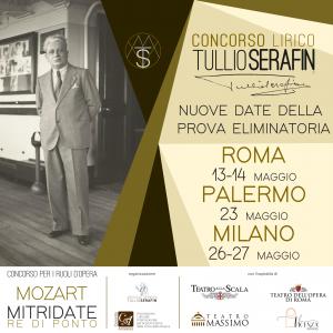 Posticipate le date per la prova eliminatoria del Concorso lirico Tullio Serafin